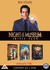 NIGHT AT THE MUSEUM - 1 TO 3 BOXSET - DVD - REGION 2 UK