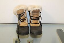 Sorel Snow Bird Ladies Suede Leather Shoes Thinsulate Boots Sports USA size 9.5