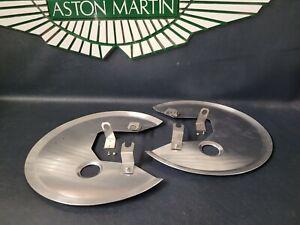 Aston Martin DB5, DB6 new pair aluminium brake disc shield assy's