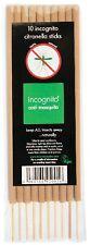 Incognito Citronella Incense Sticks (10 Sticks per Pack)