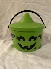 New ListingMcDonalds Halloween Bucket 1986 McWitch with green perforated lid Happy Meal