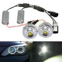 2pcs No Error LED Angel Eyes Halo Ring Light Bulb For BMW 5 Series E60 E61