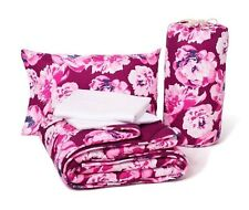 Victoria Secret PINK Floral Bed in a Bag Reversible Comforter/Sheet Set Twin XL