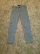 American Eagle Extreme Flex Slim Straight Chino Size 31 x 32 grey gray