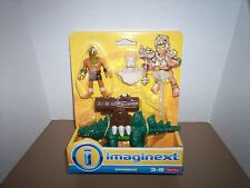 FISHER PRICE IMAGINEXT SAHARICUS WITH RIDER FIGURE
