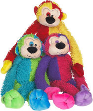 Multipet Crew Monkey Plush Toy colors vary- Free Shipping