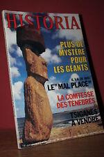 HISTORIA N°397/1979 Géants ile de Pâques, Malpasset, Mussolini s'évade,Bernhardt