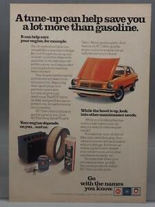 Vintage Magazine Ad Print Design Advertising General Motors AC Delco