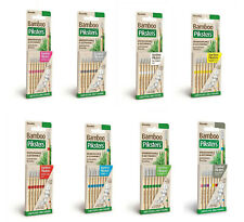 Bamboo Piksters Straight Handle 32pks Sizes 00-6. Buy Bulk & Save Capped Postage