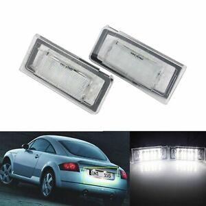 2 Stk Canbus Kennzeichenbeleuchtung Kennzeichen Leuchte Für Audi TT 8N 1999-2006