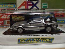 Scalextric 1:32 Back To The Future DeLorean #C4117
