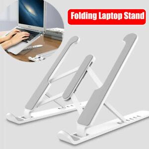 Adjustable Foldable Laptop Stand Desk Portable Notebook Riser Computer Holder ww
