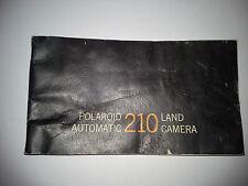 Polaroid pack film automatic 210 manual, original, lomography, instant camera