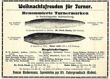Roman Biedermann Untergrombach Zigarrenfabriken Historische Reklame von 1907
