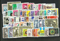 GUATEMALA LOT 52 DIFFERENT USED STAMPS, NICE !