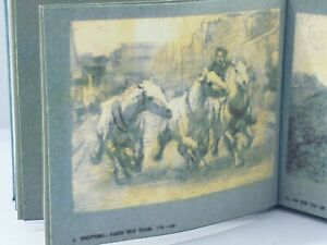 1:12 Scale Book, HORSES & MOVEMENT, L.D Luard, 1921 Crafted By Ken Blythe