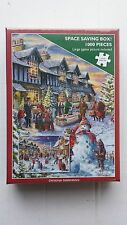 OTTER HOUSE JIGSAW PUZZLES 1000pc CHRISTMAS CELEBRATIONS ( NEW ) £9.99