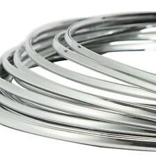 3M/10FT Chrome Moulding Trim Strip Door Edge Scratch Guard Protector Cover 6mm
