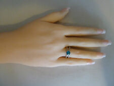 Sterling Silver ring (plated) Sizes 6, 6.5, 7,  CZ Stones, Postage is free NWT