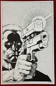 Terminator - 11x17 B&W Collecor Print By Chris Warner #3 - Dark Horse Comics