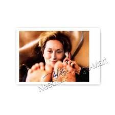 Meryl Streep - Actress | Producer -  Autogrammfotokarte laminiert [A4] 