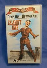 Calamity Jane VHS Doris Day Collection - Doris Day, Howard Keel - Rated G - New