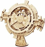 ROKR 3D Wooden Puzzle Perpetual Calendar Mechanical Gears Model Toy Building Kit