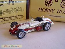 1:43 Hobby Horse, Bowes Seal Fast Special, 1961 Indy 500 Winner, #1 A. J. Foyt