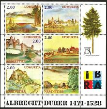 UDMURTIA ( Russia local)  Art Paintings A. Durer Sheet MNH** Privat