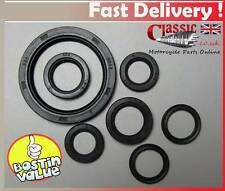 Triumph T140 / T120 TR7 Engine/5 speed Gearbox oil seal set