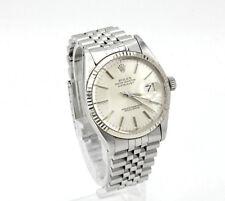 Rolex 16014 Datejust Oyster Perpetual acero trébol lünette Jubilee Band 1987