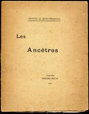 Duc Antoine de Lévis-Mirepoix : LES ANCETRES - 1901, Poème, Envoi. Rare