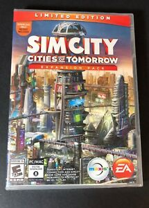 SimCity Cities of Tomorrow Expansion Pack [ Limited Edition ] (PC) NEW