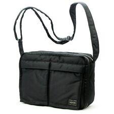 PORTER TANKER SHOULDER BAG (L) BLACK YOSHIDA KABAN FROM JAPAN 622-08810 F/S