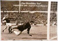 Das Wembley Tor + Fußball WM 1966 + England vs. BRD + Fan Big Card Edition A42 +