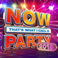 Various Artists : Now That's What I Call a Party 2018 CD 2 discs (2017)