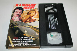 Ramblin Man (VHS 1979) Tom Selleck, Morgan Fairchild, Jerry Reed, Claude Akins
