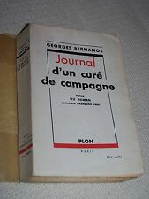 Journal d'un curé de Campagne - prix du roman - Georges Bernanos - 1950