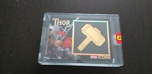 MARVEL ICONS COLLECTION BLACK GOLD CARD THOR