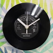 "ELVIS PRESLEY ""CRYING IN THE CHAPEL"" UNIQUE 7"" Horloge Murale"