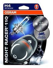 H4 NIGHT RACER 110 Motorrad-Lampen 12 Volt / 60/55 Watt P43t 64193NR1-02B