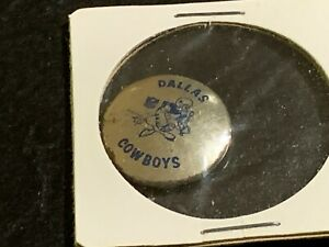 1969 Dallas Cowboys Logo NFL Football Pin