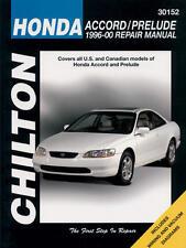 Chilton Repair Manual Honda Accord & Prelude, 1996-00 #30152