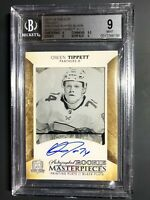 2017-18 The Cup Owen Tippett Rookie Printing Plate  1/1 Graded BGS 9 10 Auto