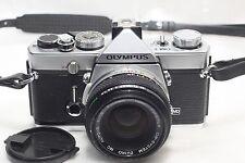 Olympus OM-1 Film Camera w/50mm f1.8 Lens *Excellent*