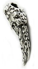 Tribal Lion Tooth Silver Pendant