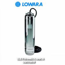ELETTROPOMPA POMPA SOMMERSA SCUBA SC205C SG HP 0,75 VOLT 220 LOWARA