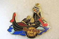 VENICE,Hard Rock Cafe Pin,Staff in Gondola