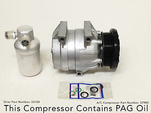 1994-1998 Buick Skylark, Pontiac Grand Am, Oldsmobile Achieva A/C Compressor Kit