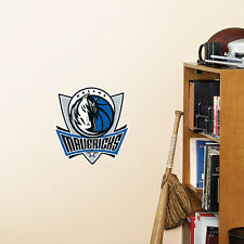 "Dallas Mavericks 10""x10"" Fathead Nba Team Logo Teammate Vinyl Wall Graphics"